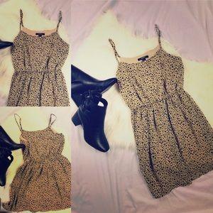 FOREVER 21 LEOPARD DRESS